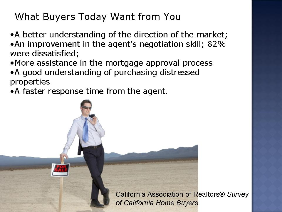 what buyers want from you