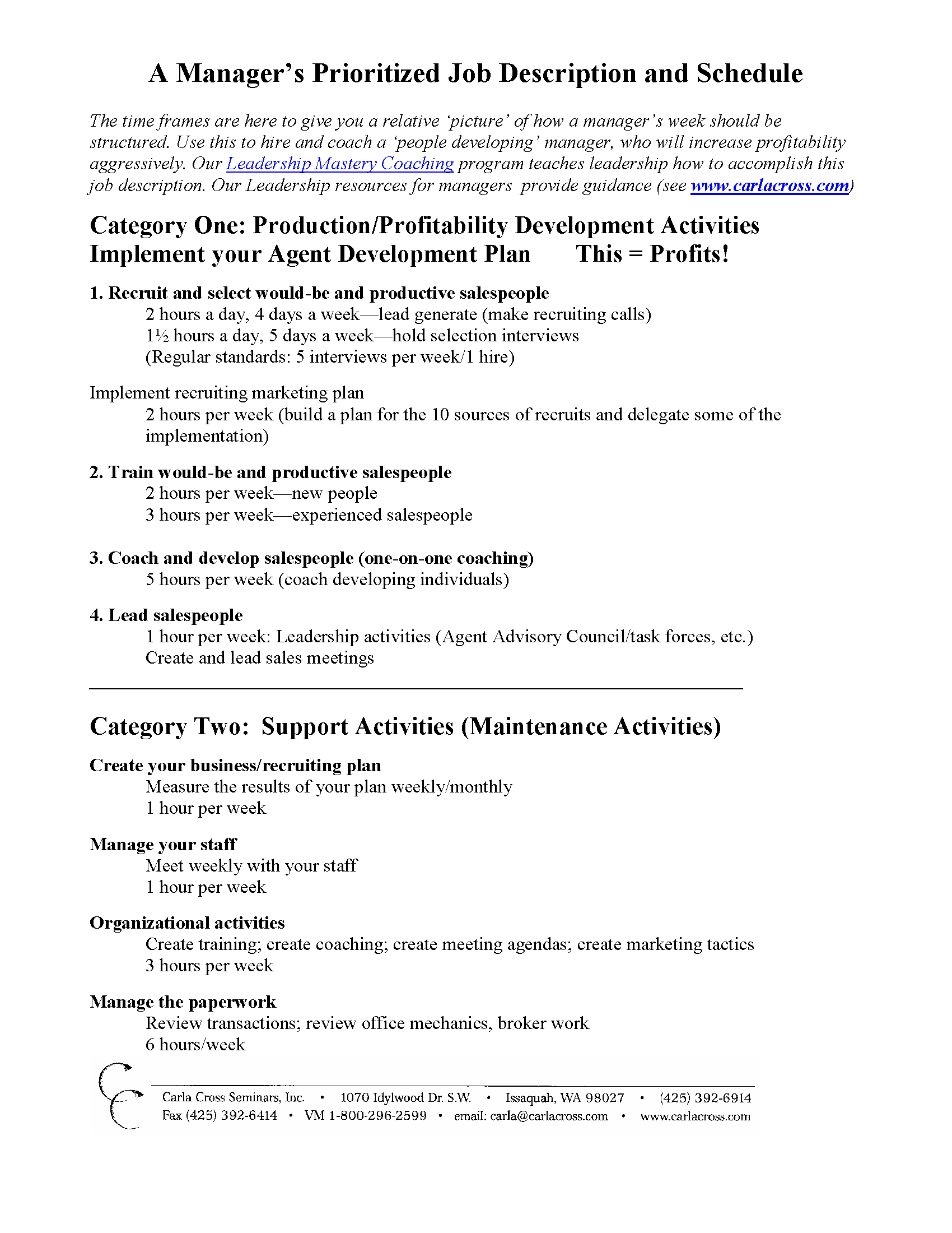 Doc638826 Athletic Director Job Description Athletic director – Development Director Job Description