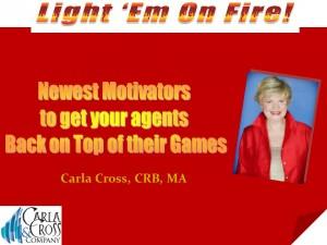 light em on fire Cross motivational presentation