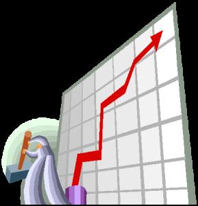 graph going up sledgehammer
