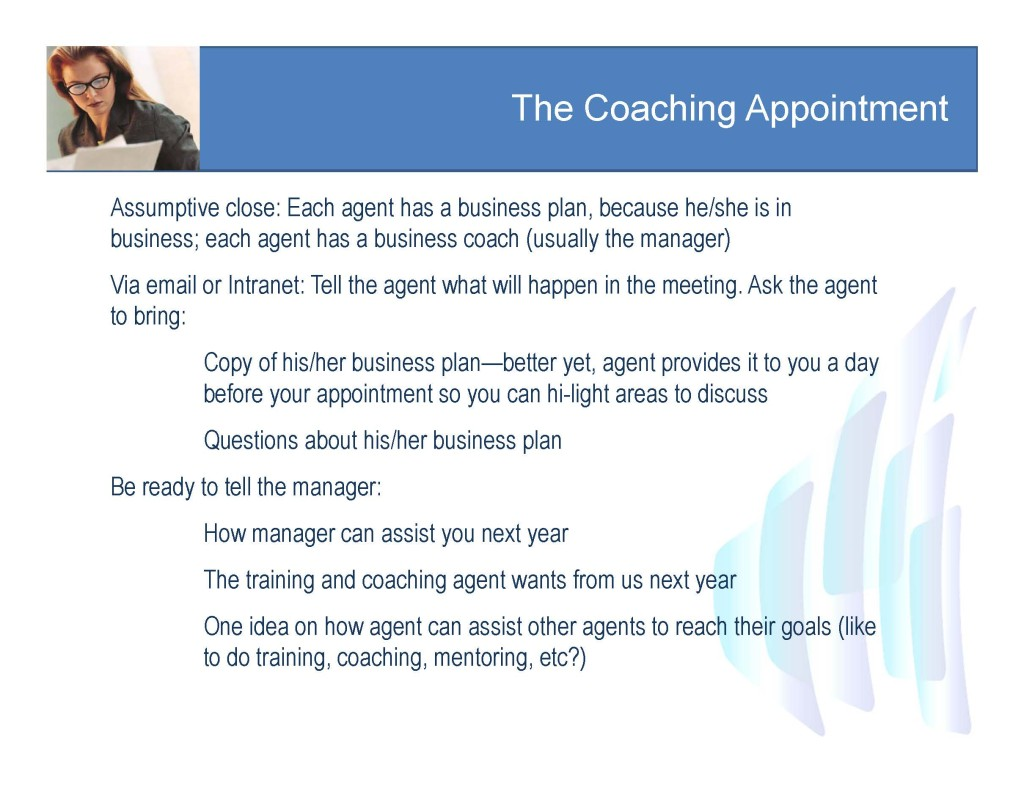 coaching appointment