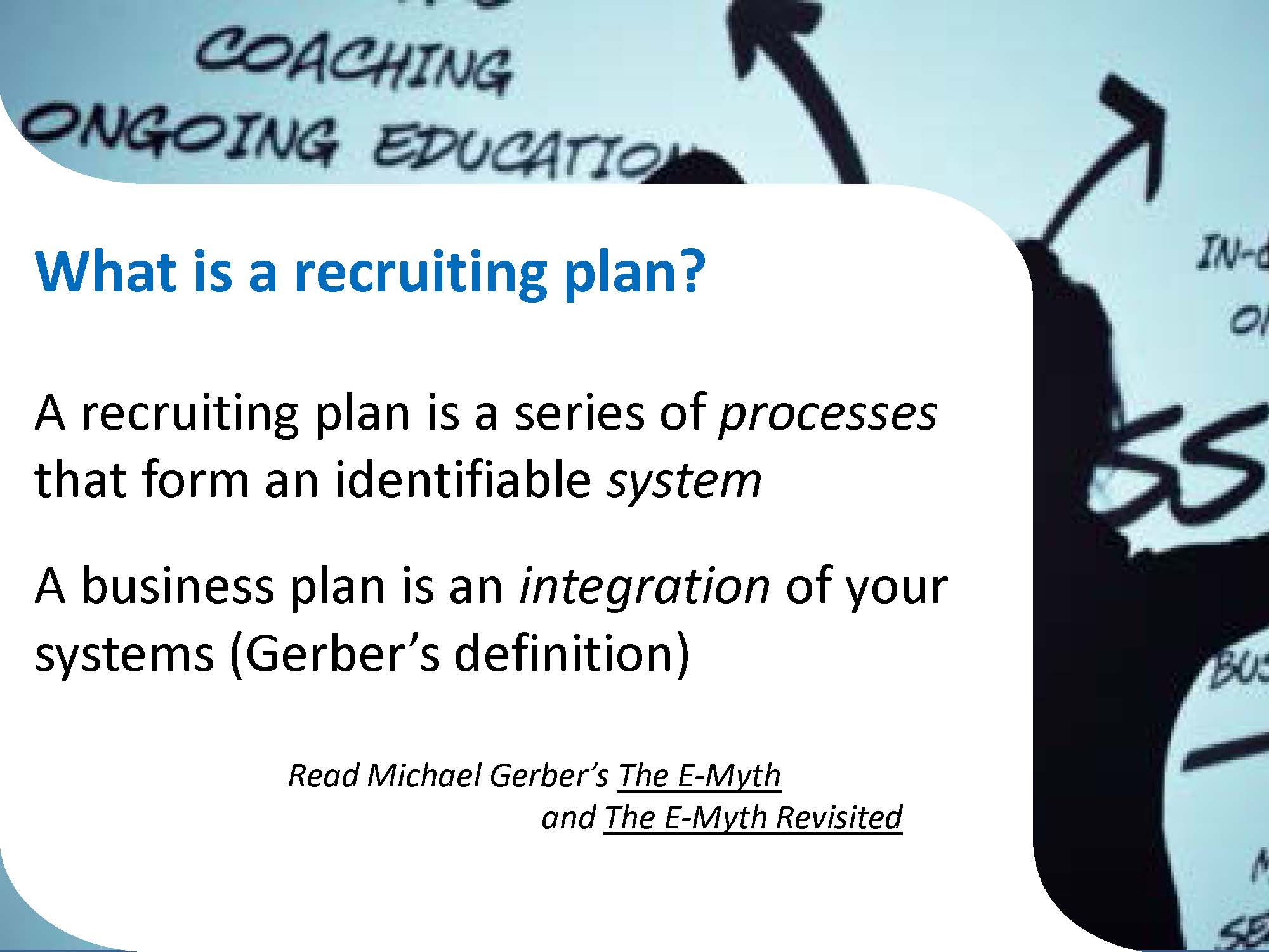 Webinars - E myth business plan template